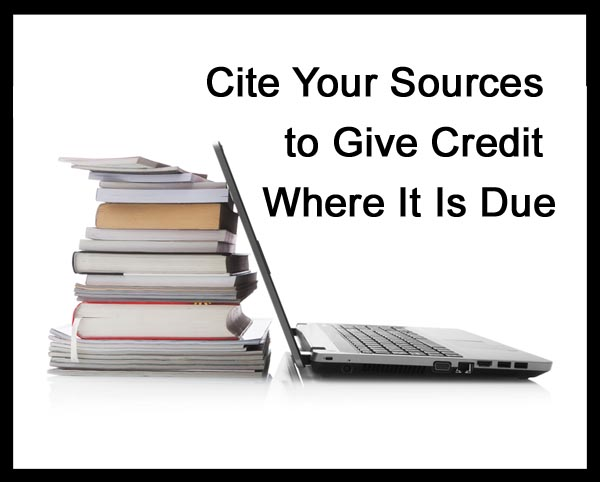 Image result for CITE YOUR SOURCES IMAGES